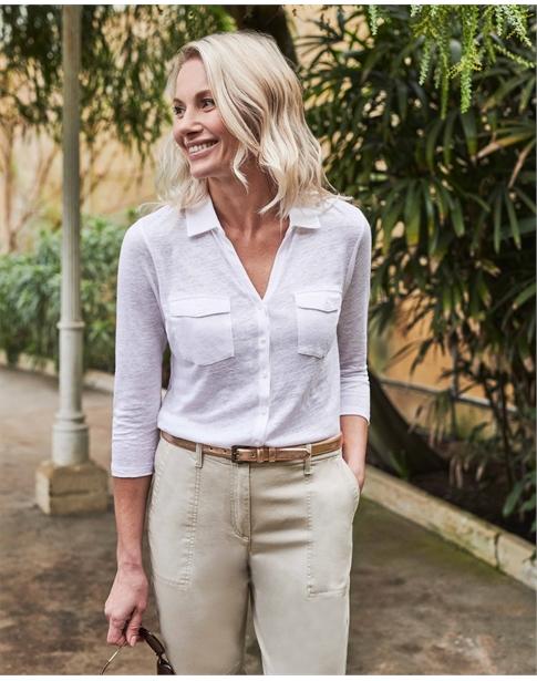 Luxury Linen Jersey Shirt
