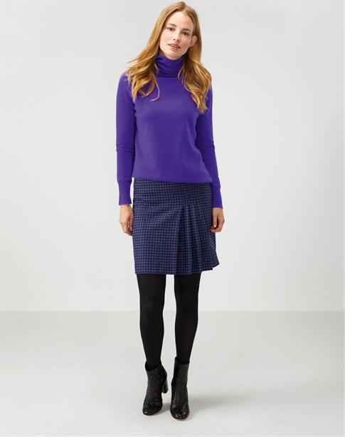 Pleat A Line Skirt