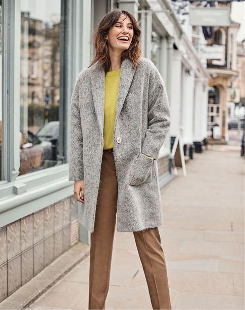Shawl Collared Coat