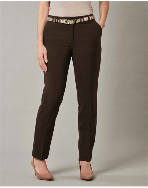 Slim Leg Wool Blend Trouser