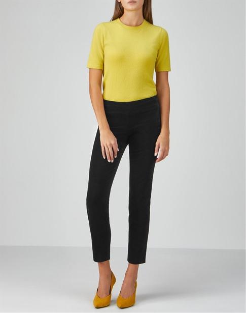 Velvet Ankle Length Trouser