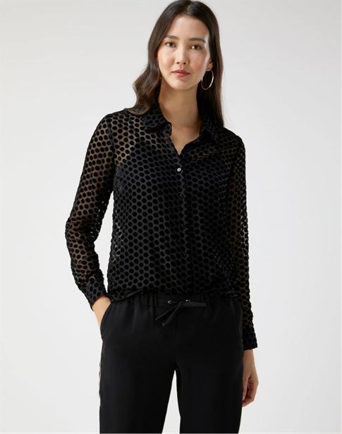 Velvet Devore Shirt