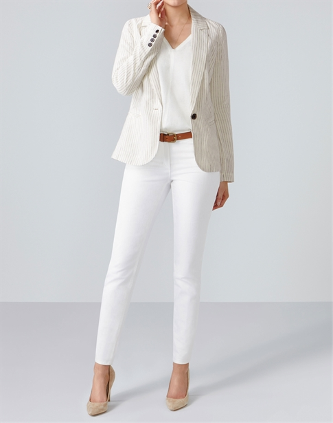 Laundered Linen Jacket