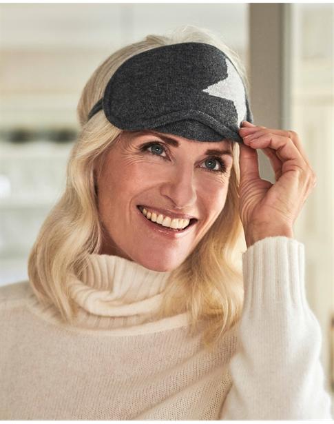 Womens Cashmere Eyemask