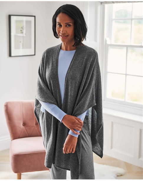 Gassato Cashmere Knitted Wrap