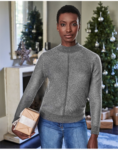 Gassato Sparkle Rib Sweater