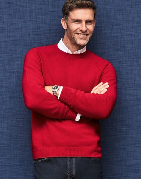 Mens Cashmere Sweatshirt