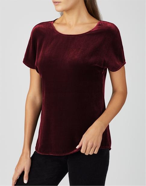 Silk Velvet T-Shirt