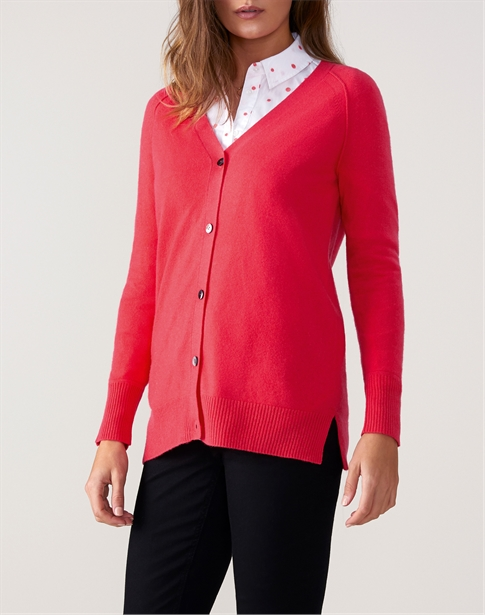 Raglan V Neck Cardigan