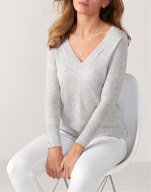 Ultra Soft Merino V Neck Sweater