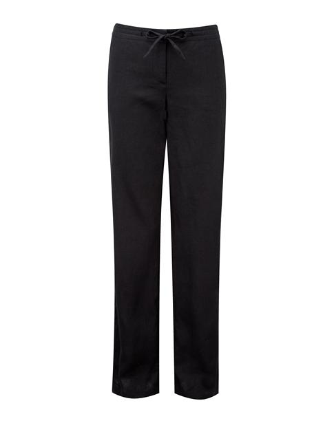 Laundered Linen Trouser