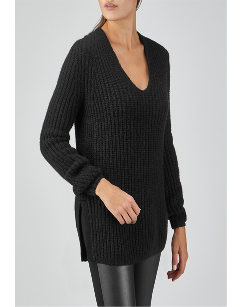 Alpaca Blend Relaxed Tunic