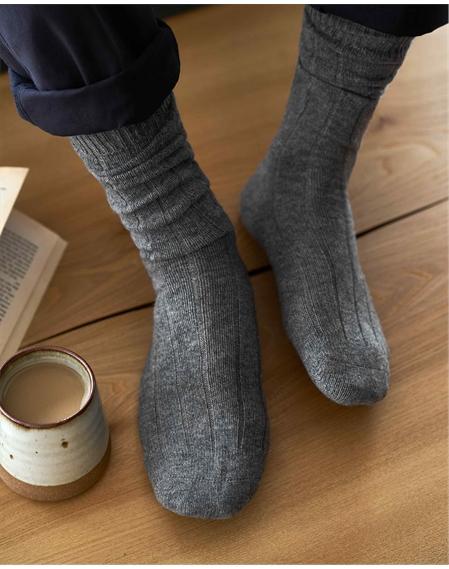 Mens Cashmere Socks