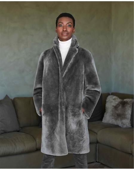 Revere Shearling Coat