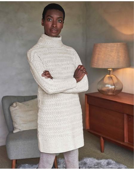 Wool Cashmere Tunic